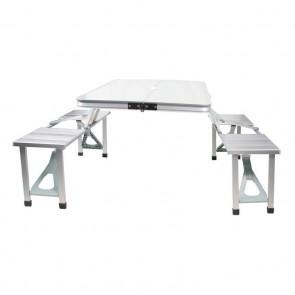Alumiinium laud ja toolid