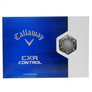 CALLAWAY CXR golfipallid 12tk