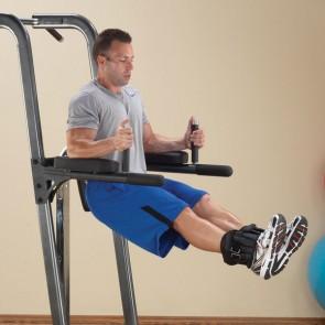 Jalgadetõste-, dip-, lõuatõmme-, surumispink